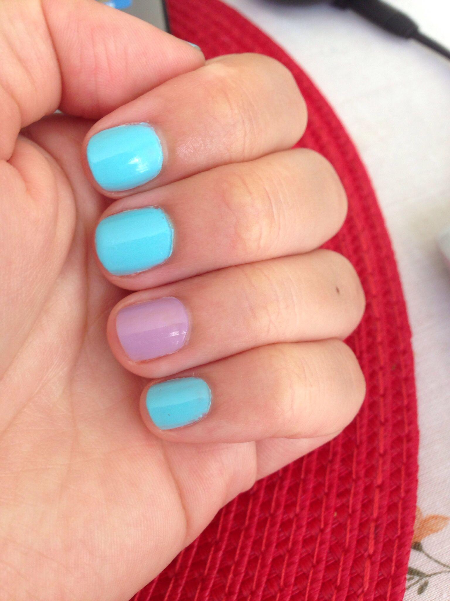Lujo Hielo Azul Esmalte De Uñas Foto - Ideas de Diseño de Arte de ...