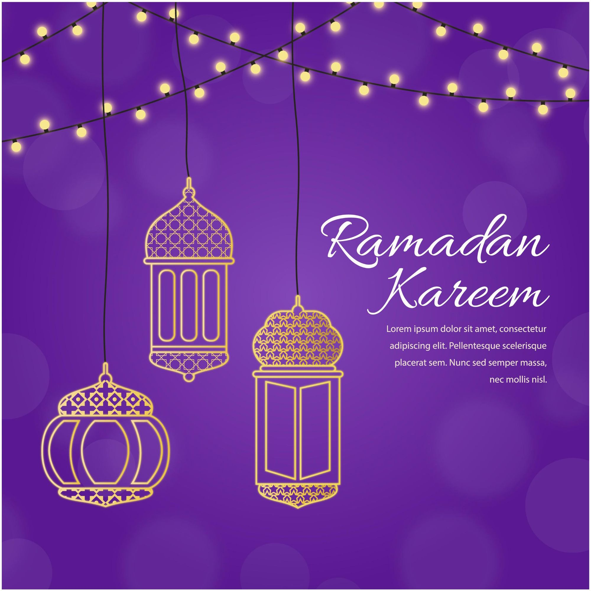 Muslim traditional holiday typographical design usable as eid mubarak muslim traditional holiday typographical design usable as background or greeting cards http kristyandbryce Choice Image