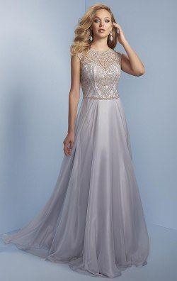 1a464445af3 Beaded Chiffon Gown by Splash by Landa Designs J580