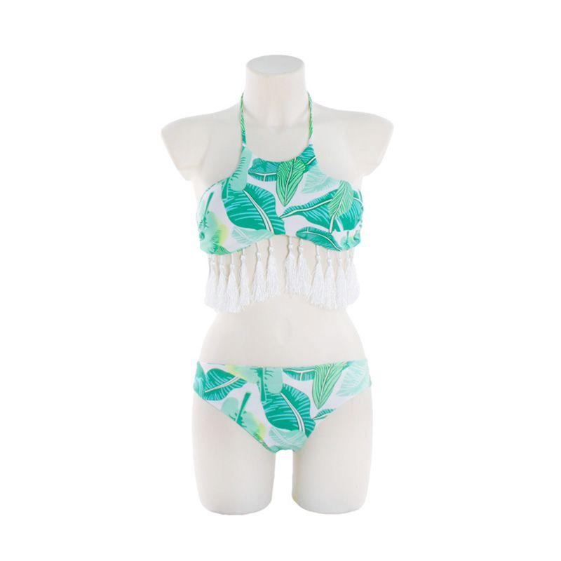 Swimwear Bandage Bikini 2017 Sexy Tassel Beach Swimwear Women Swimsuit Bathing Suit Brazilian Bikini Set Biquini maillot de bain
