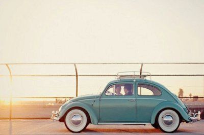 Vintage Beetle. Why oh why can't I have this now?