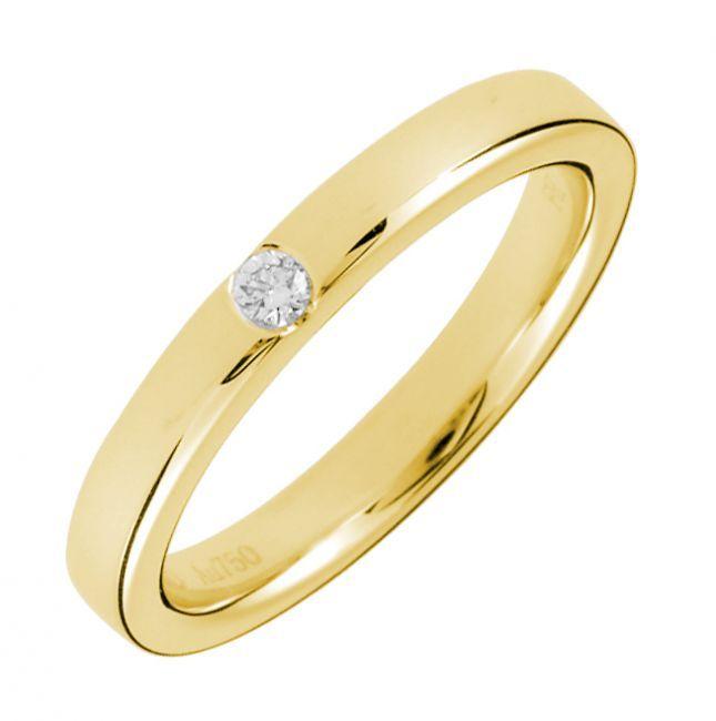 Br 0 05ct F I1 Burnished Diamond Single Stone Wedding Band In 18k Gold 711 7375 Jpg 645 650 Grandpa Ring Ideas Pinterest Sparkling
