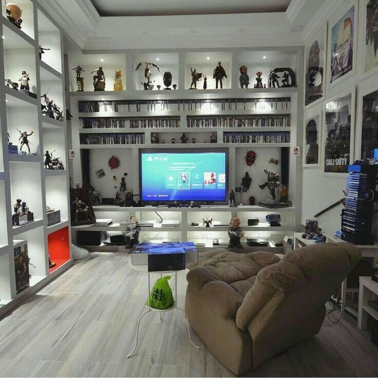 Luxury Man Cave Game Room Bar With Images: Now This Is The Ultimate Den Of A Gamer!