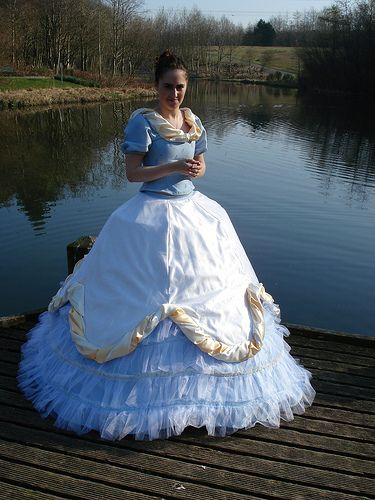 19th C Civil War Dress #dressesfromthesouthernbelleera