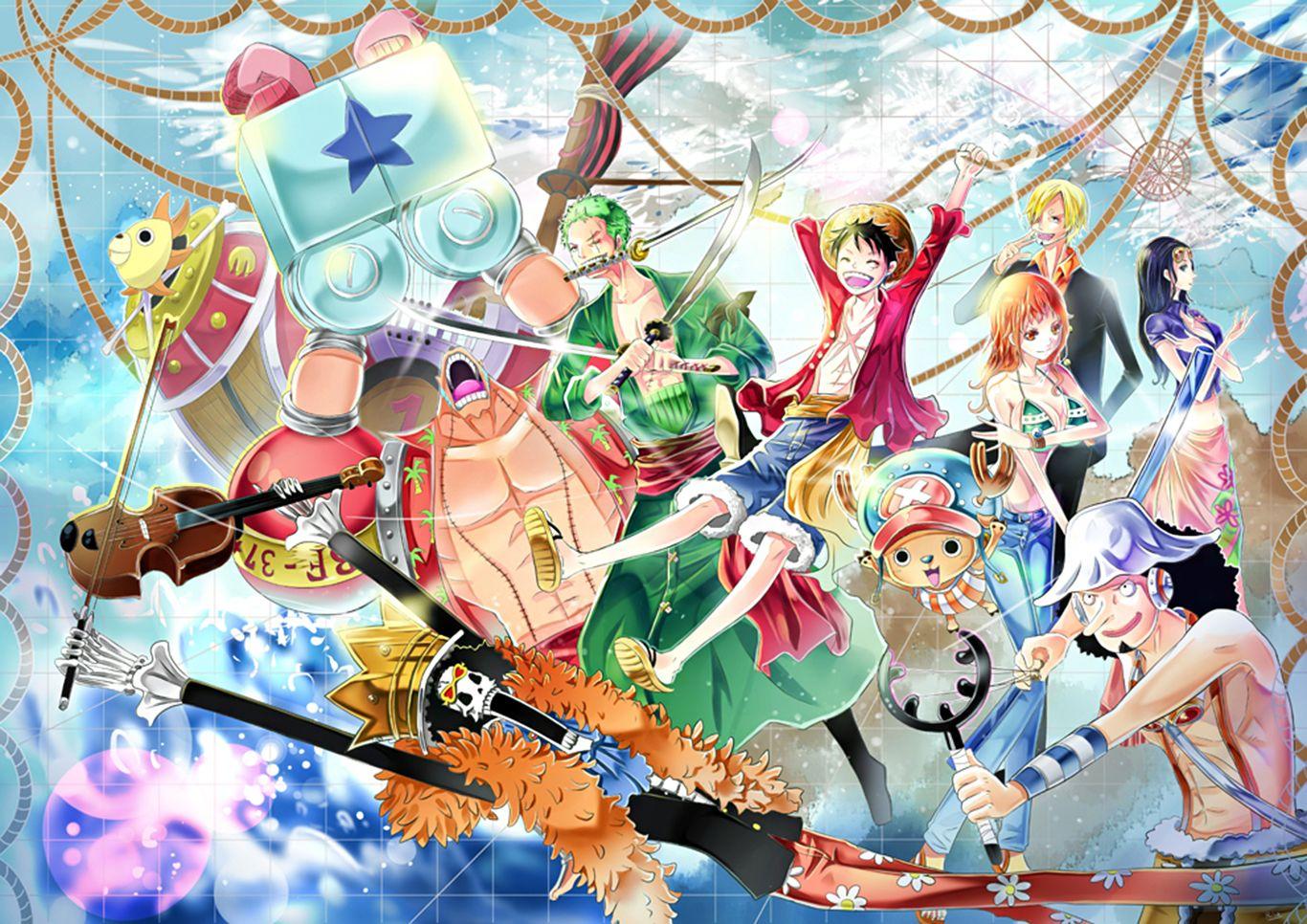 ปักพินในบอร์ด One Piece