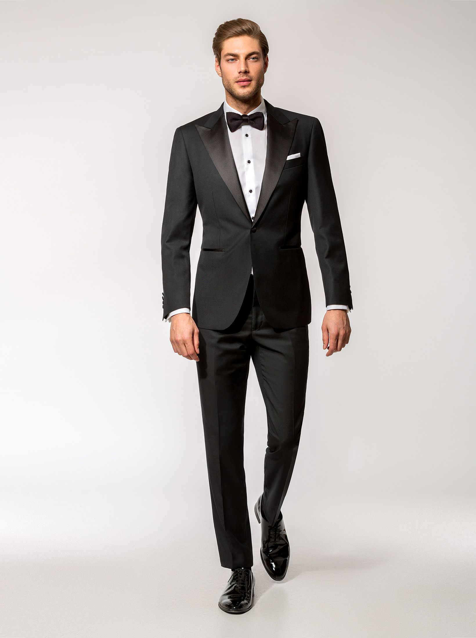 Smoking black tie Bing Crosby - CONSIGLIERI | Costume la comanda | Made-to-