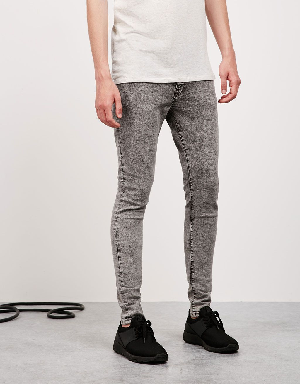 Jeans super skinny lavado - Back to school - Bershka España