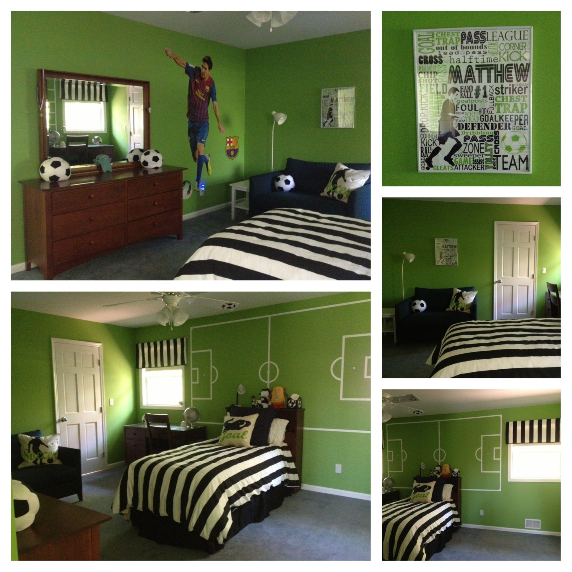J loved the fieldonthewall look  Matthews Bedroom in