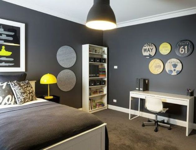 Room Decor · Modern And Stylish Teen Boy Rooms