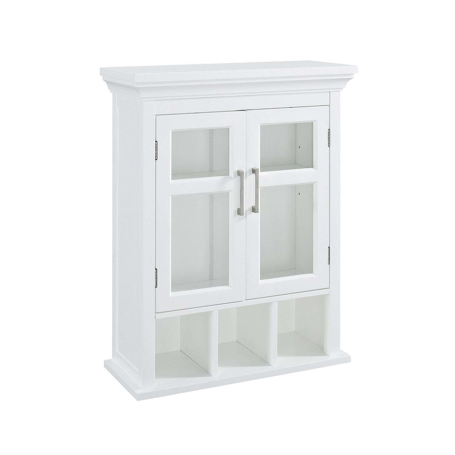 Avington Two Door Wall Cabinet with Cubbies | Products | Pinterest ...