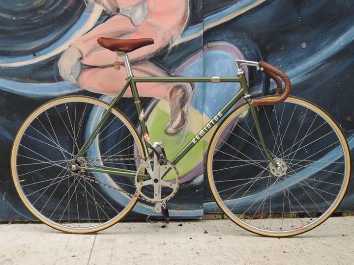 Remington Track bicycle