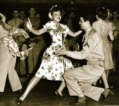 f09c28ee9750 Jitterbug Jive 1940s dancing photo (would love to learn how to do this dance !)