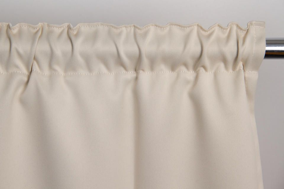 Beige Soundproof Curtain Cotton Effect Eggshell Mc634 Room Divider Curtain Sound Proofing Curtains