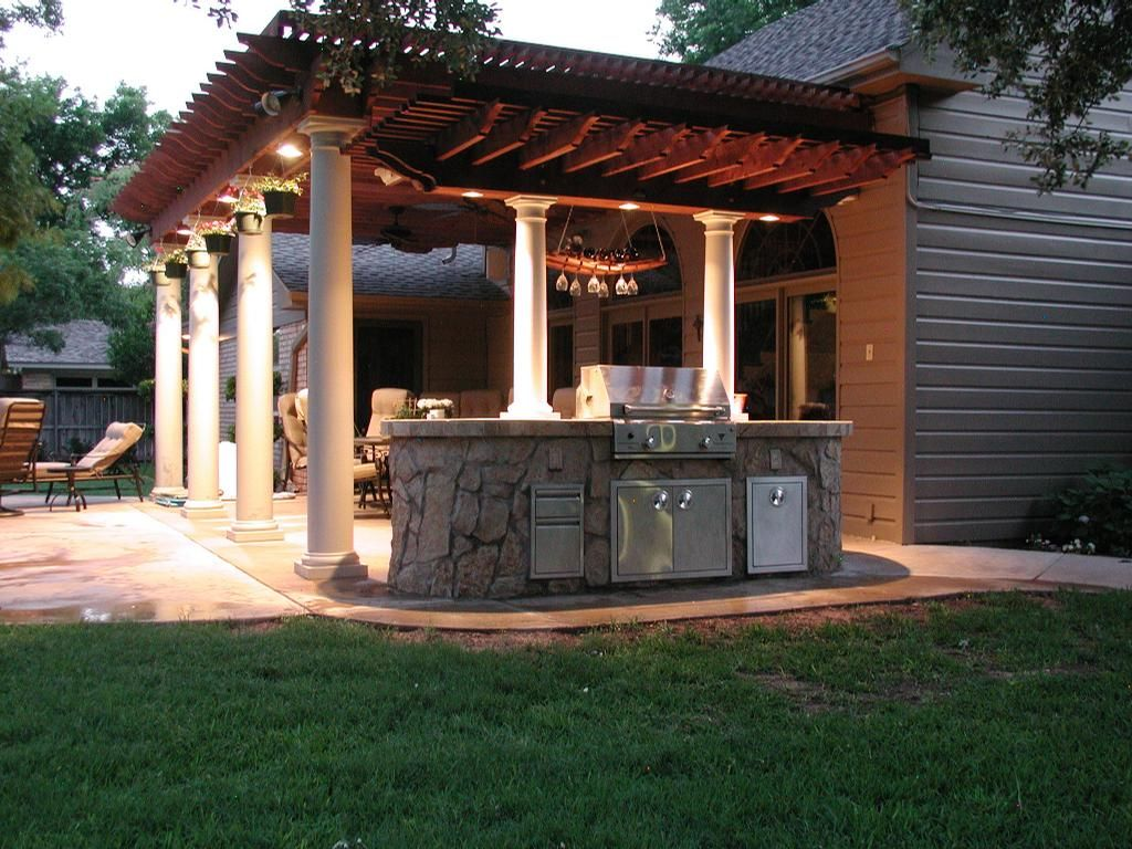 I love outdoor kitchens dream home pinterest outdoor living