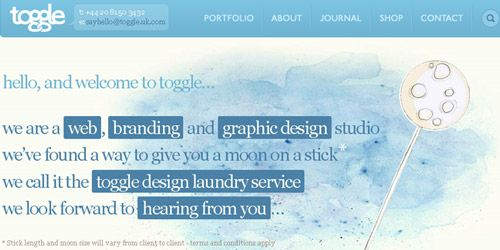 water color website http://naldzgraphics.net/inspirations/35-inspiring-watercolor-effect-in-web-design/  http://www.toggle.uk.com/