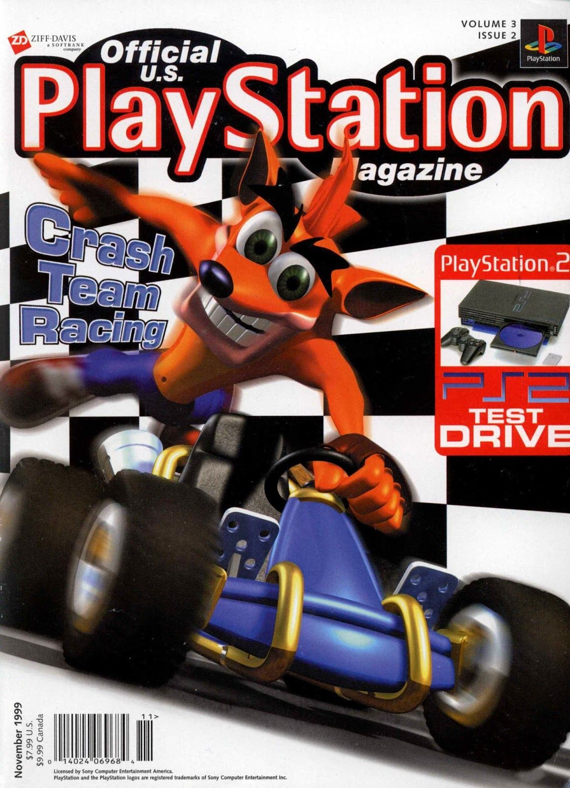 Official U.S. PlayStation Magazine, November 1999 | Gaming Magazines ...