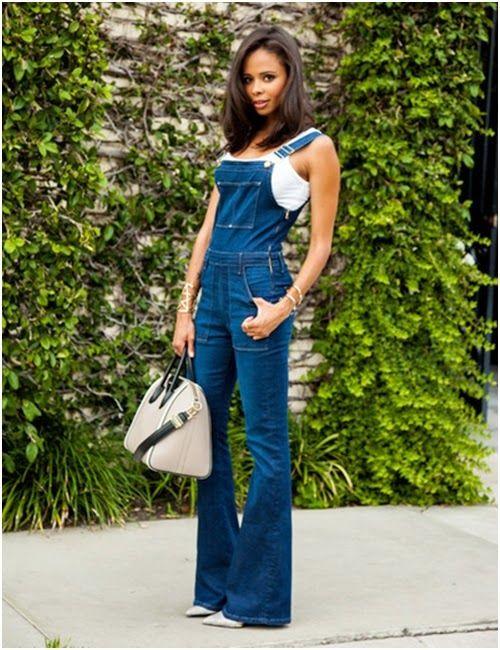 331ab9be5 Look Dia do Consumidor: Jardineira | Looks Inspiração | My kinda ...