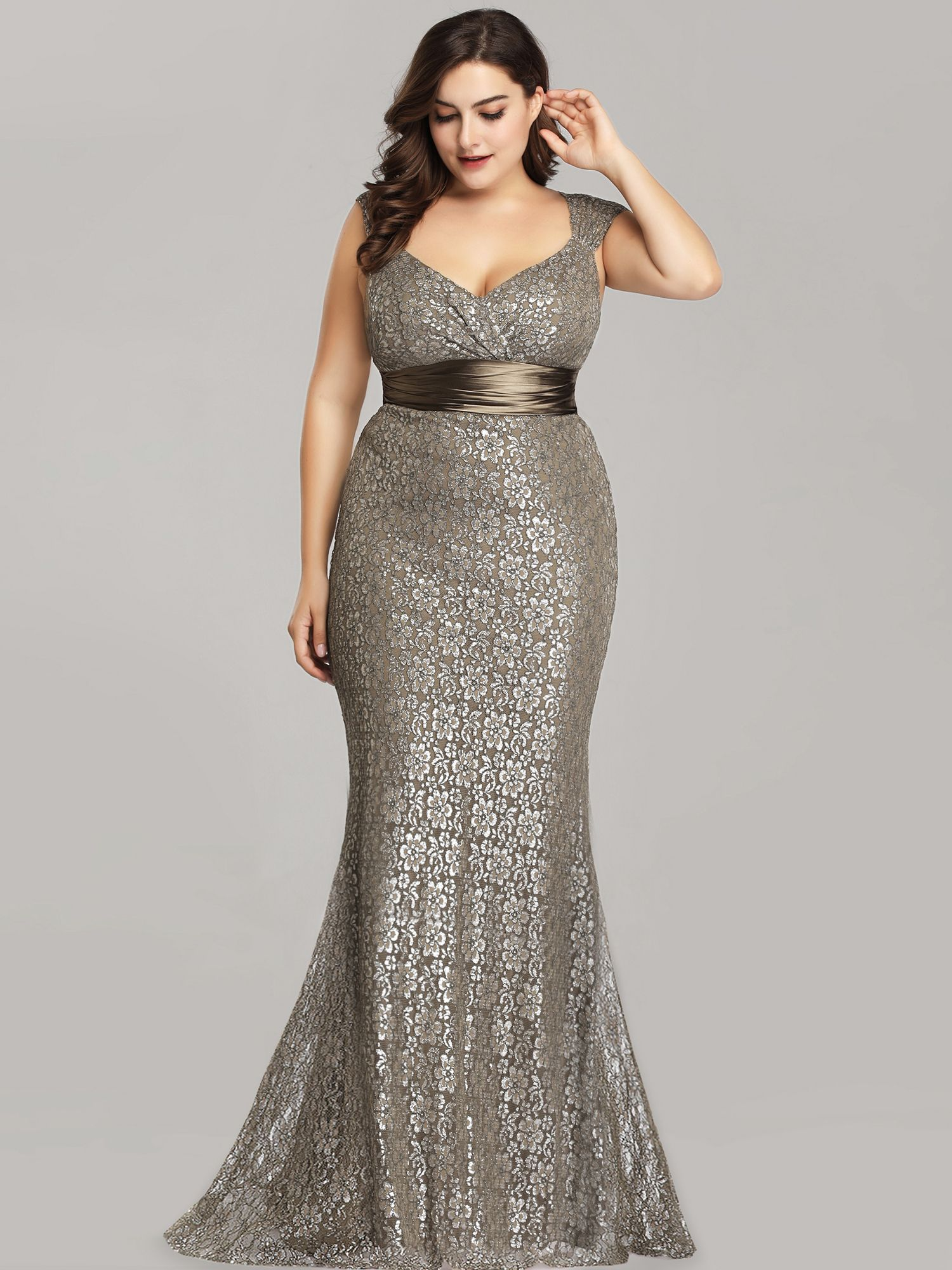 Ever Pretty Ever Pretty Womens Plus Size Lace Long Formal Evening Party Dresses For Women 87982 Coffee Us4 Walmart Com Evening Dresses Plus Size Evening Dresses Elegant Plus Size Prom Dresses [ 2000 x 1500 Pixel ]