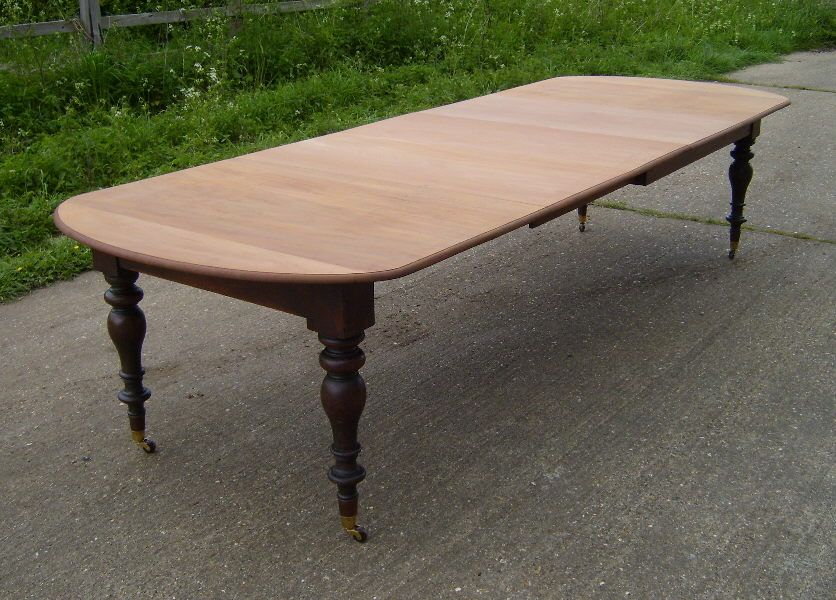 Antique Dining Tables Table 11ft Narrow
