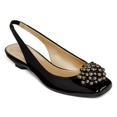 Liz Claiborne® Bobbie Beaded Slingback found at