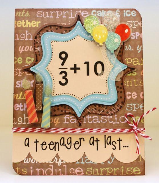 Cute For Any Age Te Idea Teacher Too Scrapbook Ideas Cards Cricut And Kids Also