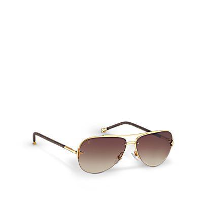 Louis Vuitton Accessoires Sonnenbrillen Sonnenbrille Brille Louis Vuitton Brille