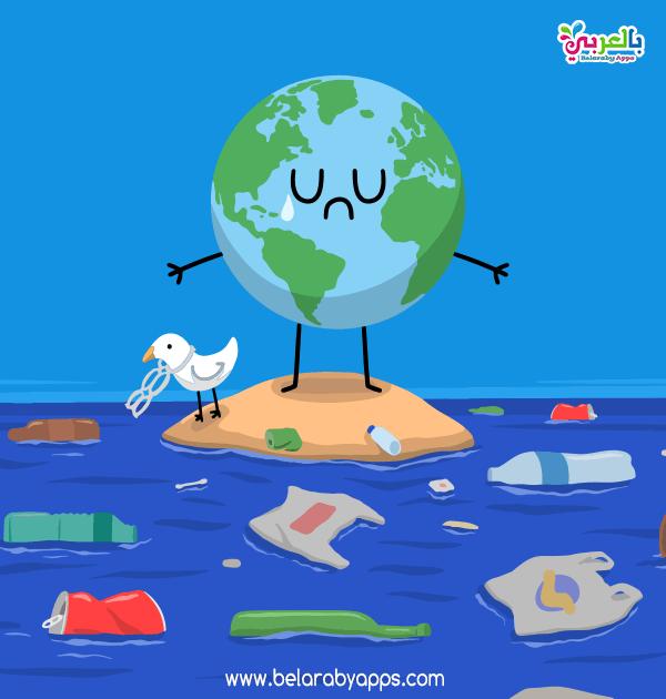 رسومات عن تلوث البيئة البحرية تلوث الماء للاطفال بالعربي نتعلم In 2021 Ecology Save Water Poster Drawing Earth Drawings
