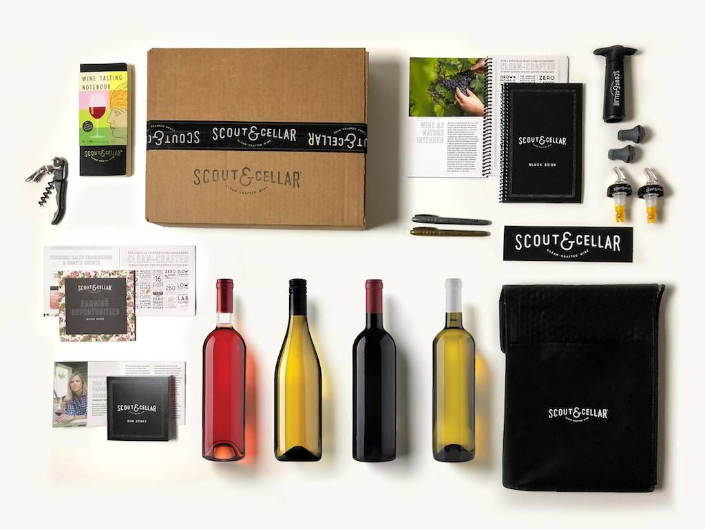 a Wine Consultant at Scout & Cellar and get the New