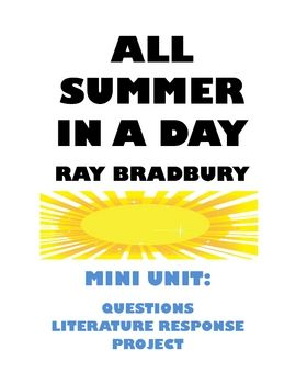 all summer in a day by ray bradbury text