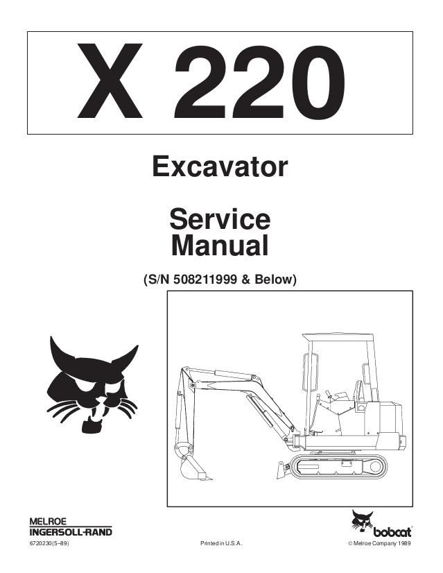 click on the image to download Bobcat X220 Hydraulic