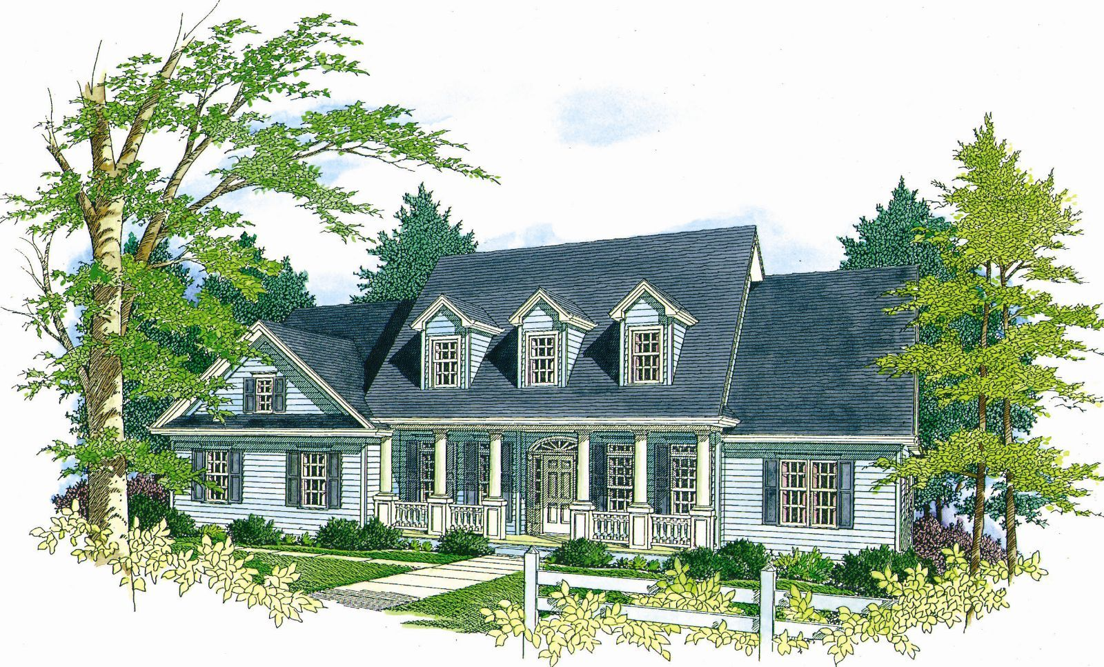 The Andrew House Plan - 4378