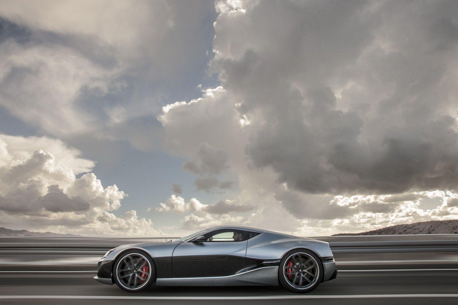 Foto - Rimac Concept One: la sportiva elettrica da 1000 CV