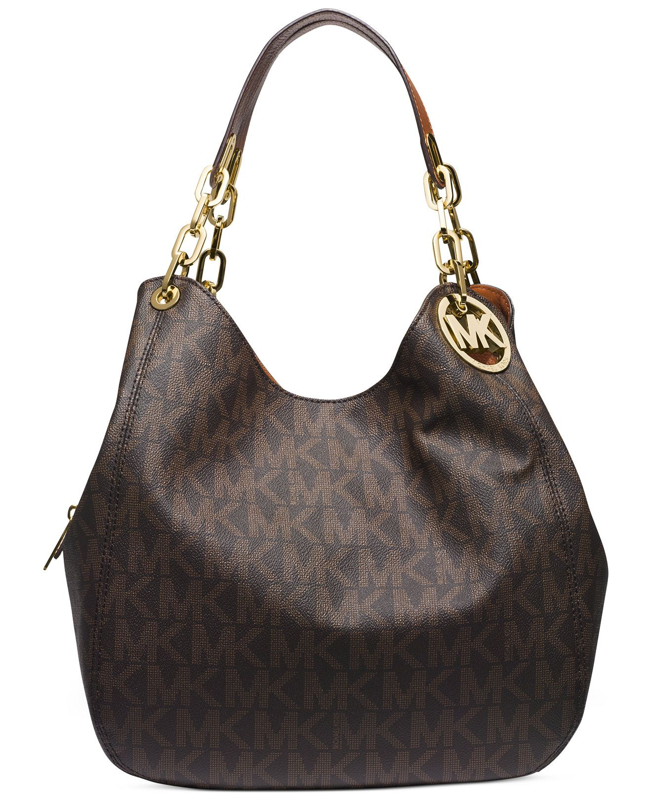 55e08aa2d842 MICHAEL Michael Kors Fulton Large Shoulder Tote - Michael Kors Handbags -  Handbags   Accessories - Macy s