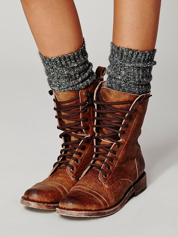 Free People Fletch Lace Up Boot
