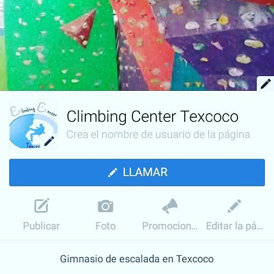 Visita nuestra pagina en Facebook