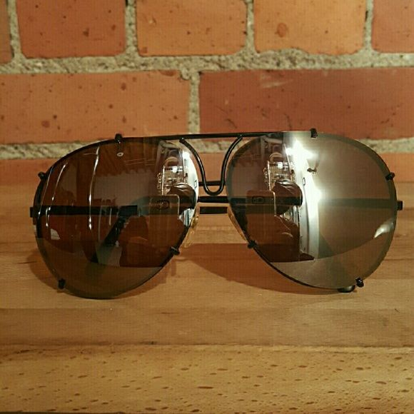 a2409fc02a0 Porsche Style Aviator Sunglasses Get the LOOK for less with these dead  stock vintage porsche