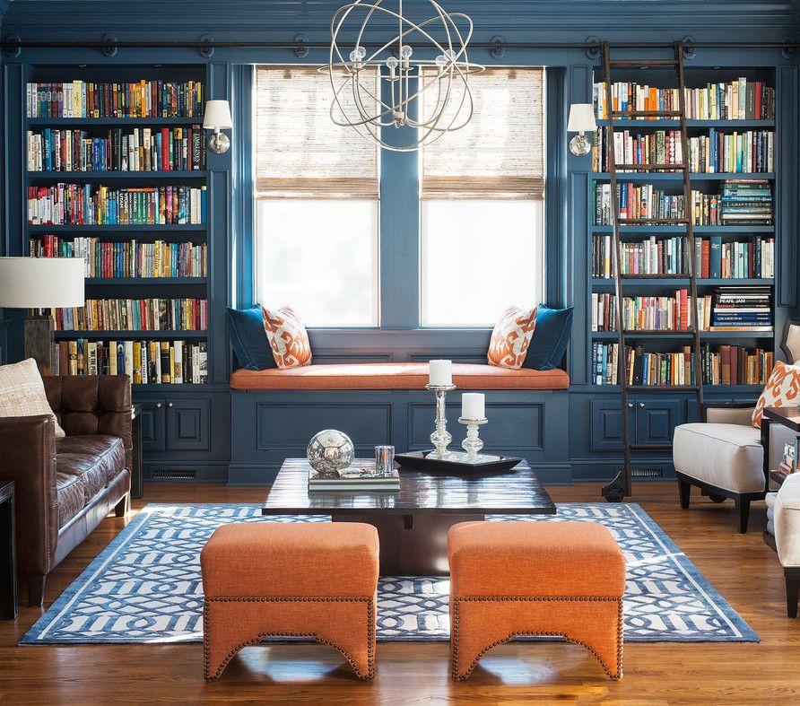 BuiltIn Bookshelf Home Organization Interior Design