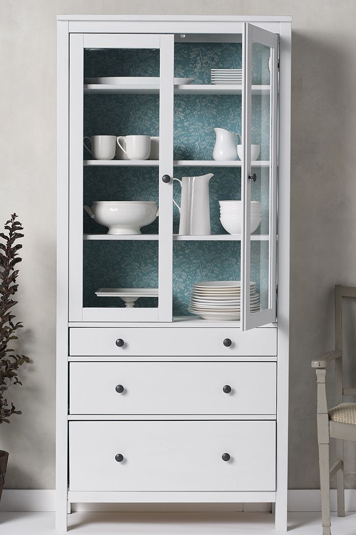 With The Martha Stewart Pattern Roller Apply A Quick All Over To Interior Of Hutch Itll Give Your Whiteware Display An Extra Pop