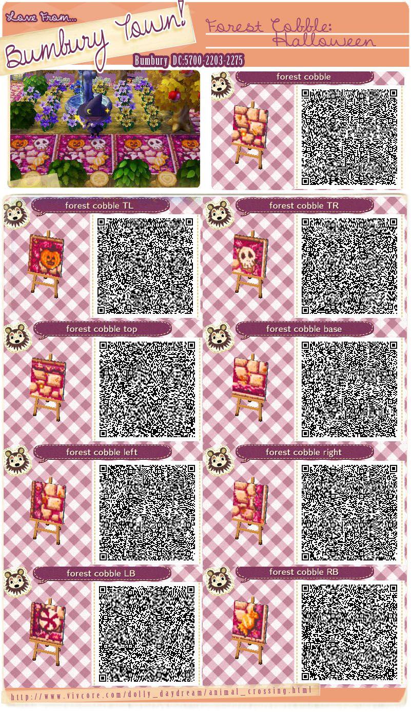 Animal Crossing New Leaf Qr Code Paths Pattern Bumburytown