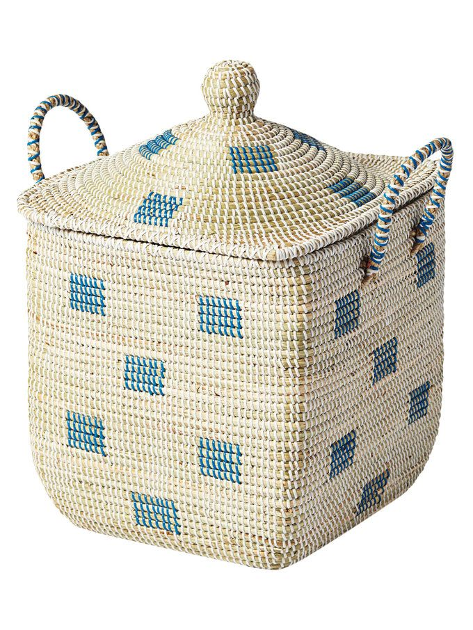 Small Square La Jolla Storage Bin With Lid From Serena U0026 Lily Home On Gilt