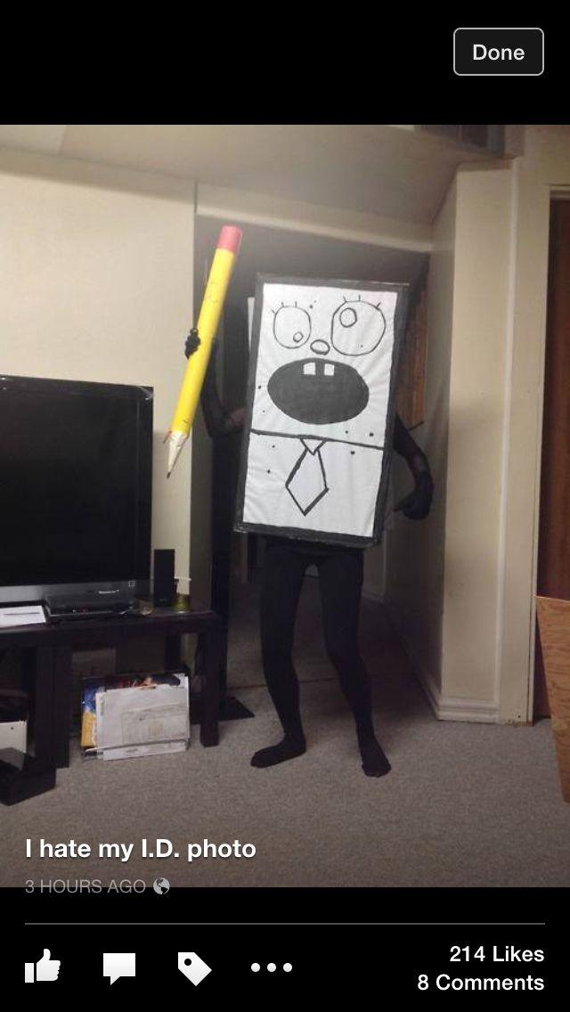 spongebobs drawing costume inspiration in 2019