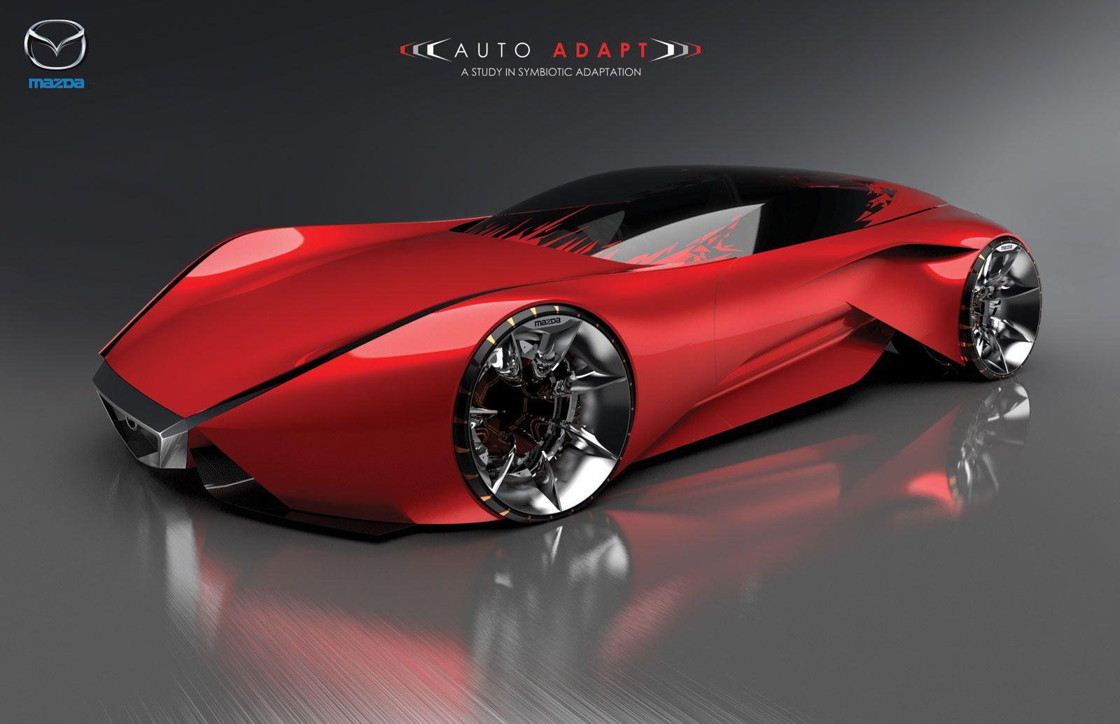 Mazda Auto Adapt Concept Car Body Design Concept Cars Mazda Futuristic Cars