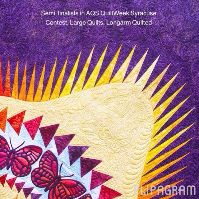 Detail images of contest quilts on display next week at ...