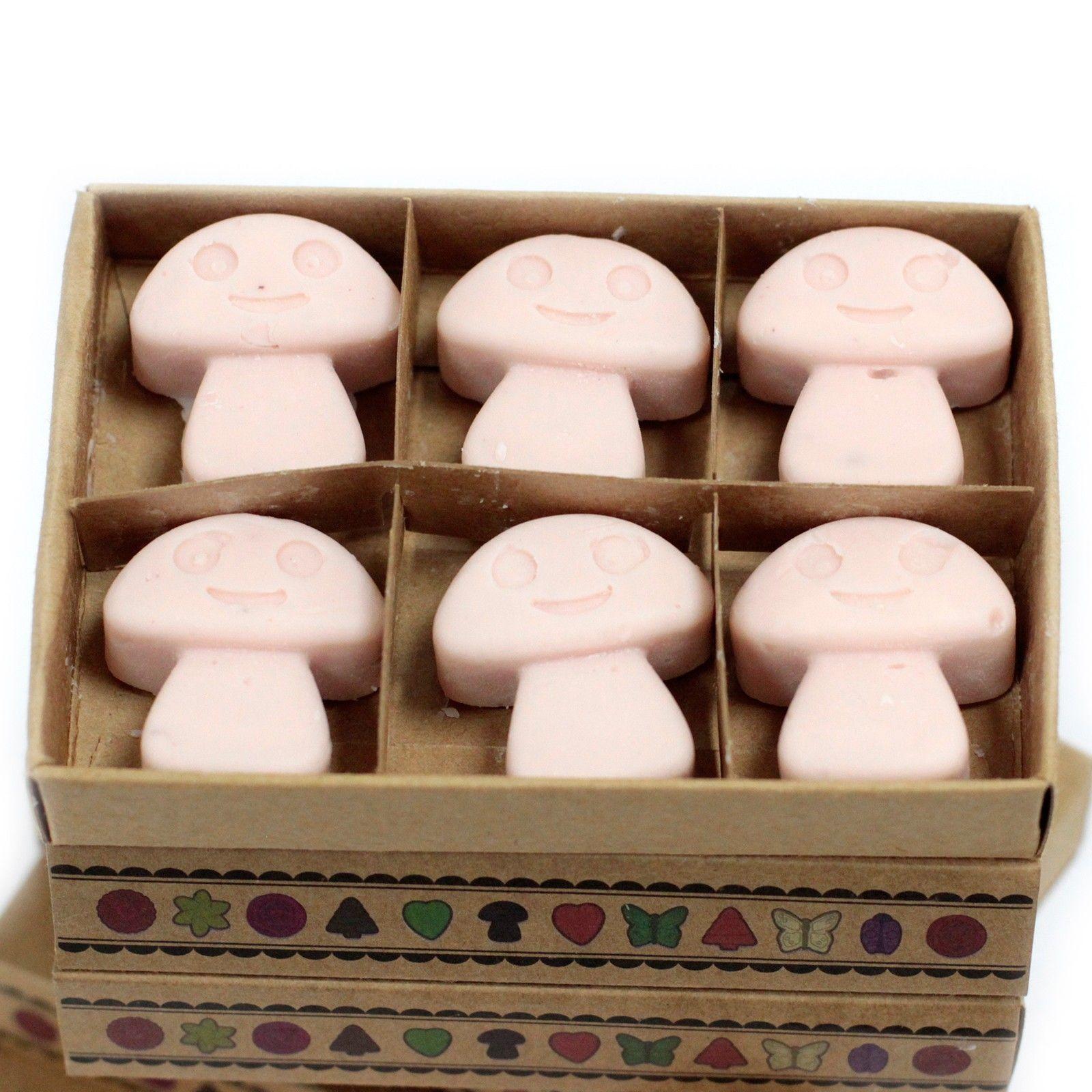 Box of 6 wax melts dark sandalwood our luxury soy wax