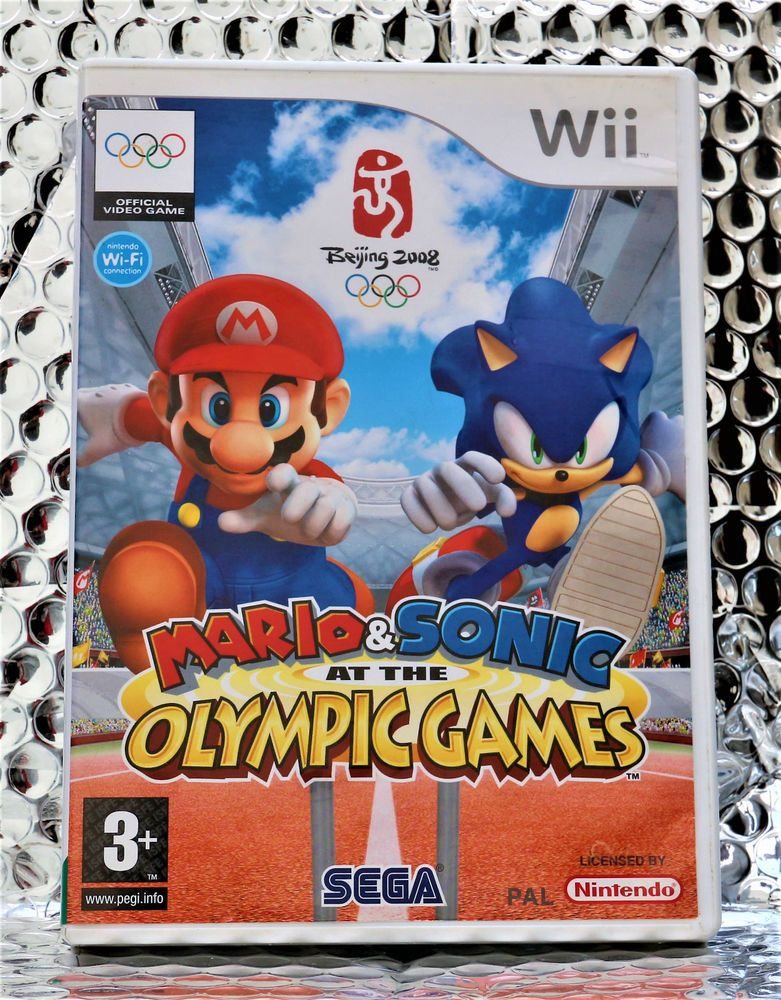 Mario & Sonic at the Olympic Games Nintendo Wii Game Boxed