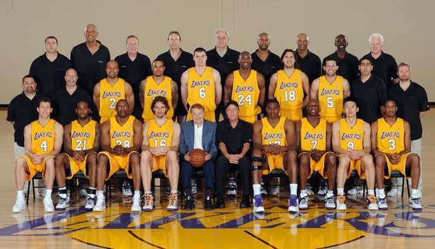 2008 2009 Laker Championship Team Lakers Basketball Los Angeles Lakers Lakers Championships
