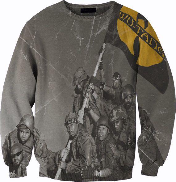 Biggie Smalls Crewneck Sweater Sweatshirt by YeahWhateverz