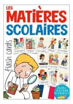 French flash cards - les matières scolaires (school subjects)- cartes d'images FrançaisTeach vocabulary with these lovely picture cards for your French classWhat a great resource! I love using flashcards when I introduce new vocabulary, when I speak about certain topics or when my students prepare a project. Once printed and laminated they are applicable for many teaching situations. Enjoy this wonderful resource with eye-catching pictures!