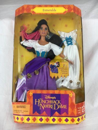 Nrfb Stunning Disney Esmeralda Hunchback Of Notre Dame Doll 15311