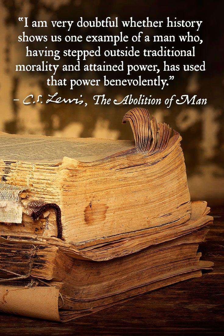 cs lewis abolition of man pdf